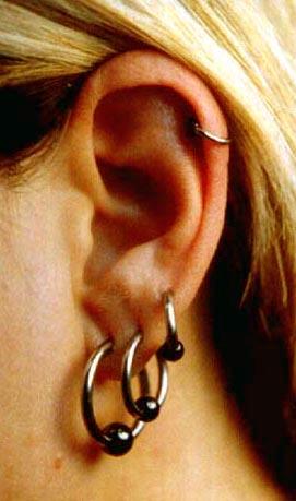 piercing ringe ohr